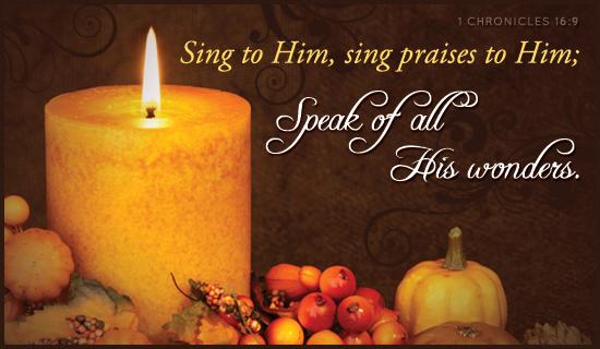 Thanksgiving Week Services & Dinner Nov. 21-24